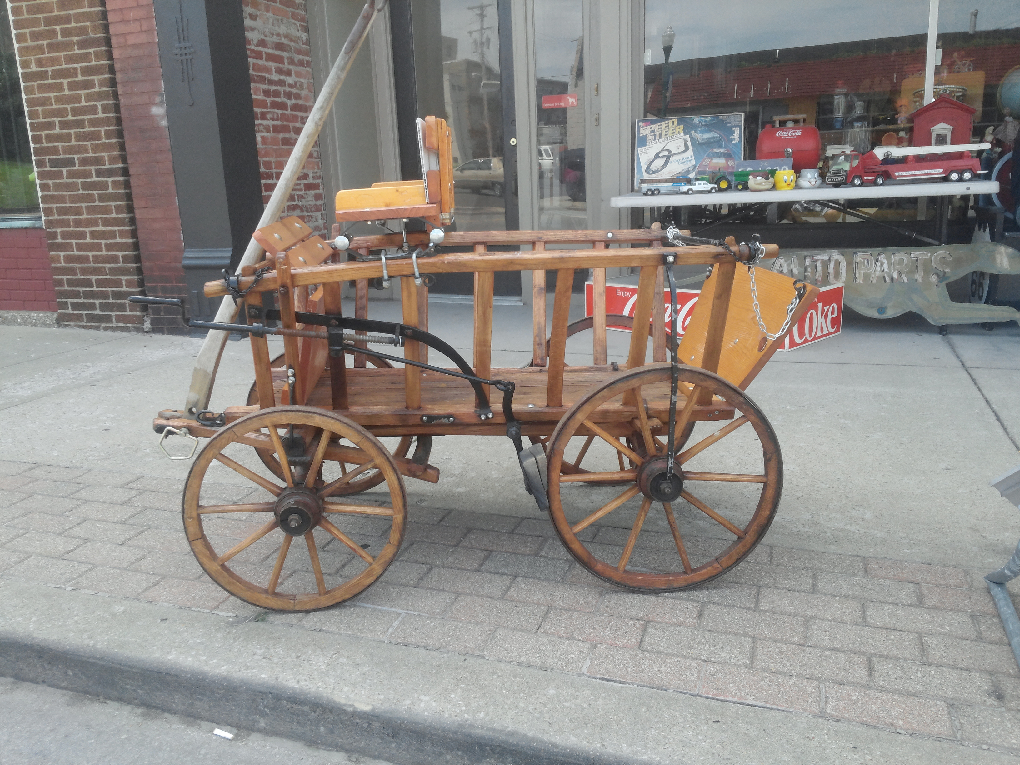 Mid 1800s Wooden Wagon