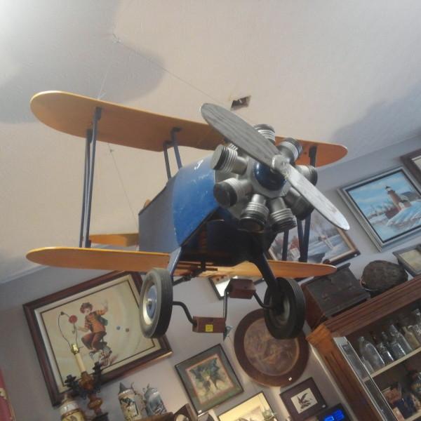 Antique Vintage Pedal Car Airplane