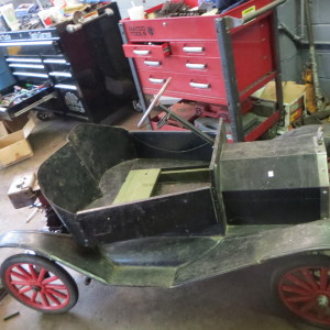 Original Macdonough 1910 Model T-10 Tin Lizzie