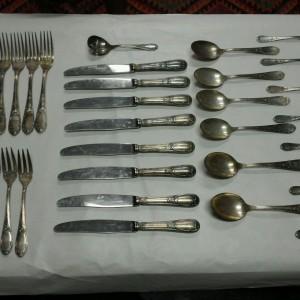 Frionnet Francois 37 piece sterling silver flatware