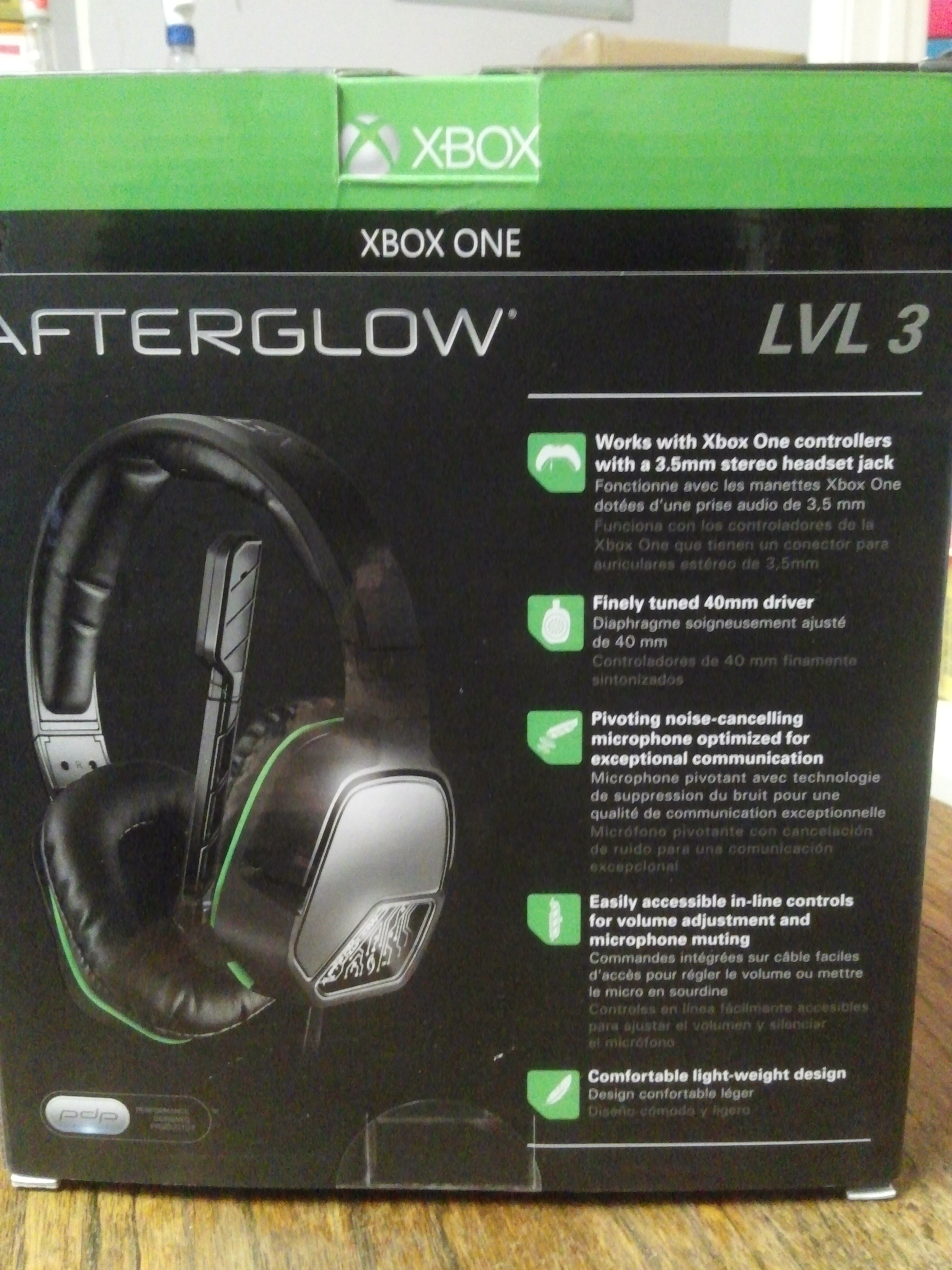LVL3 Afterglow Wired Chat Headset for Xbox One – Trade Nation