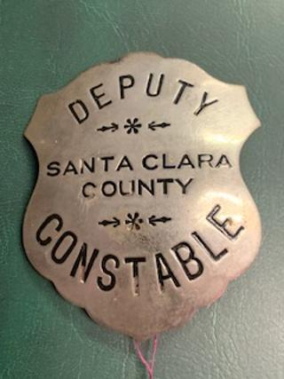 Santa Clara County Constable Badge